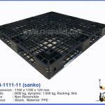 Pallet Plastik Sanko D4-1111-11 | Pallet Ekspor, Logistik & pergudangan
