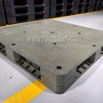 Pallet Plastik Bekas Flat ukuran 110 x 110 x 15 cm: Ready Stok