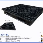 One Way Cargo Pallet Bekas Ukuran 1300 x 1100 x 150 cm, Ready Stock!